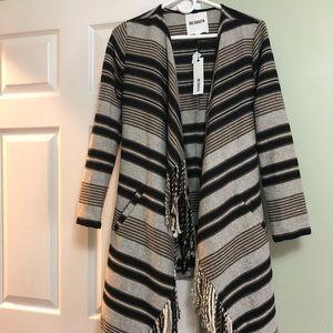 BB Dakota Fringe Coat